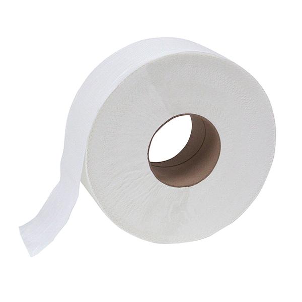 Mayfair 2000ft 1-ply jumbo toilet paper roll