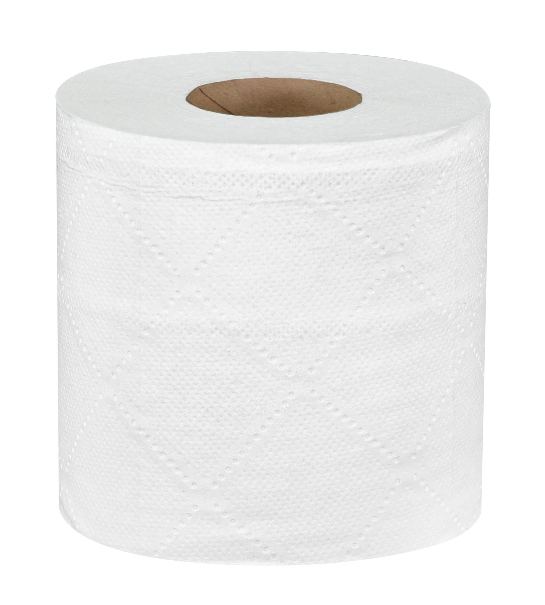 Roll of Sellars Mayfair® 550ct 2-ply bath tissue