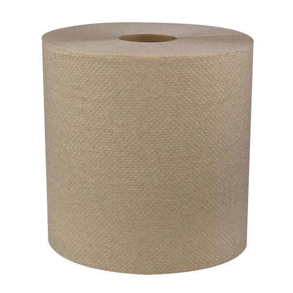 Sellars mayfair natural hard wound towel 800ft roll