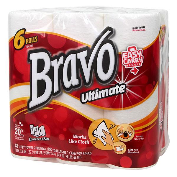 6 pack of Sellars Bravo Ultimate kitchen towel.