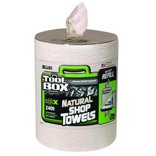 Sellars Toolbox GreenX Z400 Big Grip shop towel refill