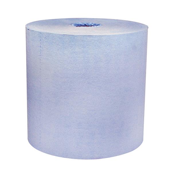 Jumbo roll of Z700 blue towels