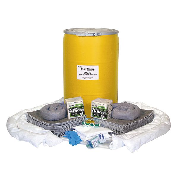 Sellars EverSoak general purpose 55 gallon srum spill kit
