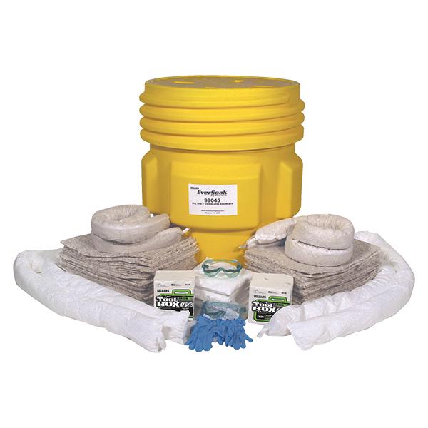 Sellars EverSoak Oil Only 65 Gallon Drum Spill Kit