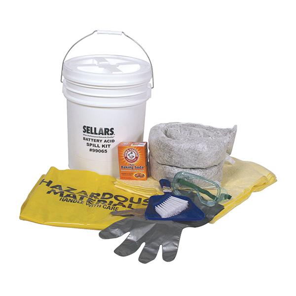 EverSoak Battery Acid Spill Kit