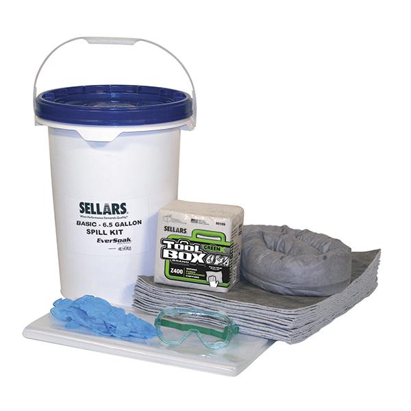 EverSoak general purpose 6.5-gal pail spill kit