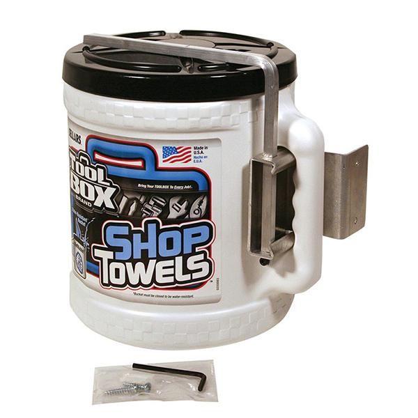 sellars toolbox big grip bucket towel dispenser
